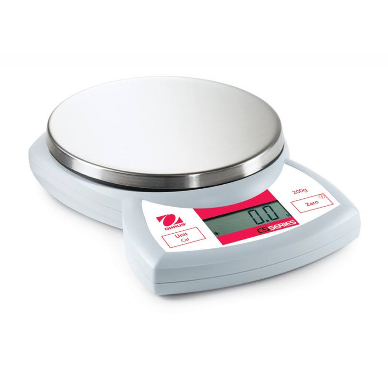 Scale Calibration Weights >> OHAUS CS200 - 200g x 0.1g compact scale