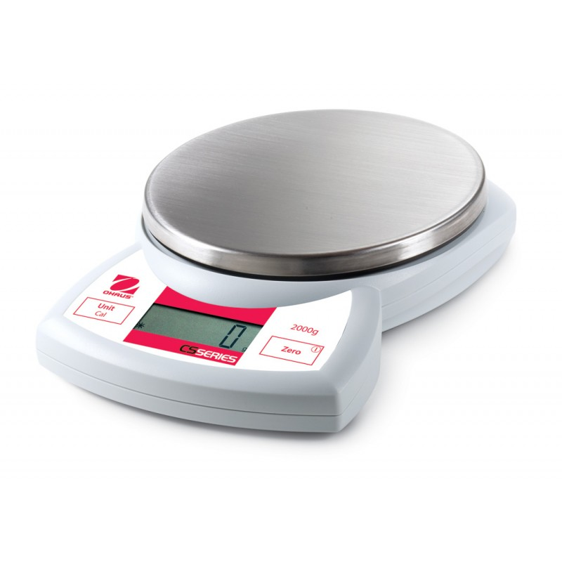 Scale Calibration Weights >> OHAUS CS2000 - 2kg x 1g compact scale