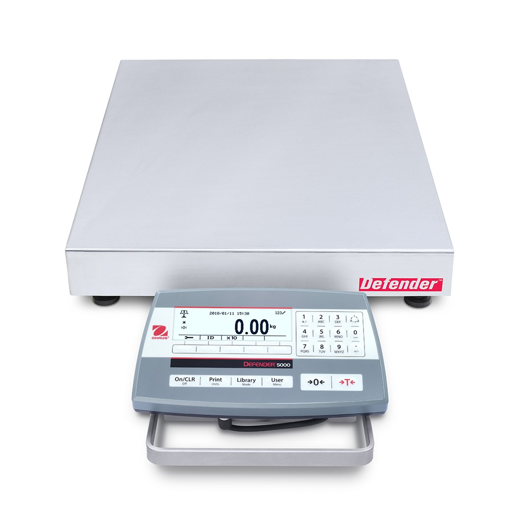OHAUS Defender 5000 D52P30RQDL5 bench scale