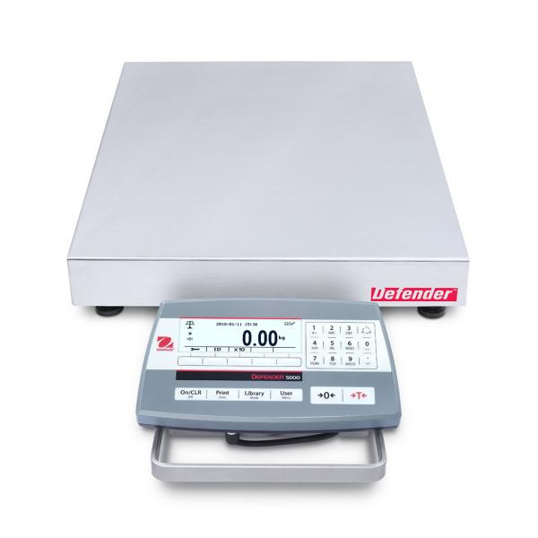 OHAUS Defender 5000 D52P60RQDL5 - 30kg/60kg x 2g/5g bench scale