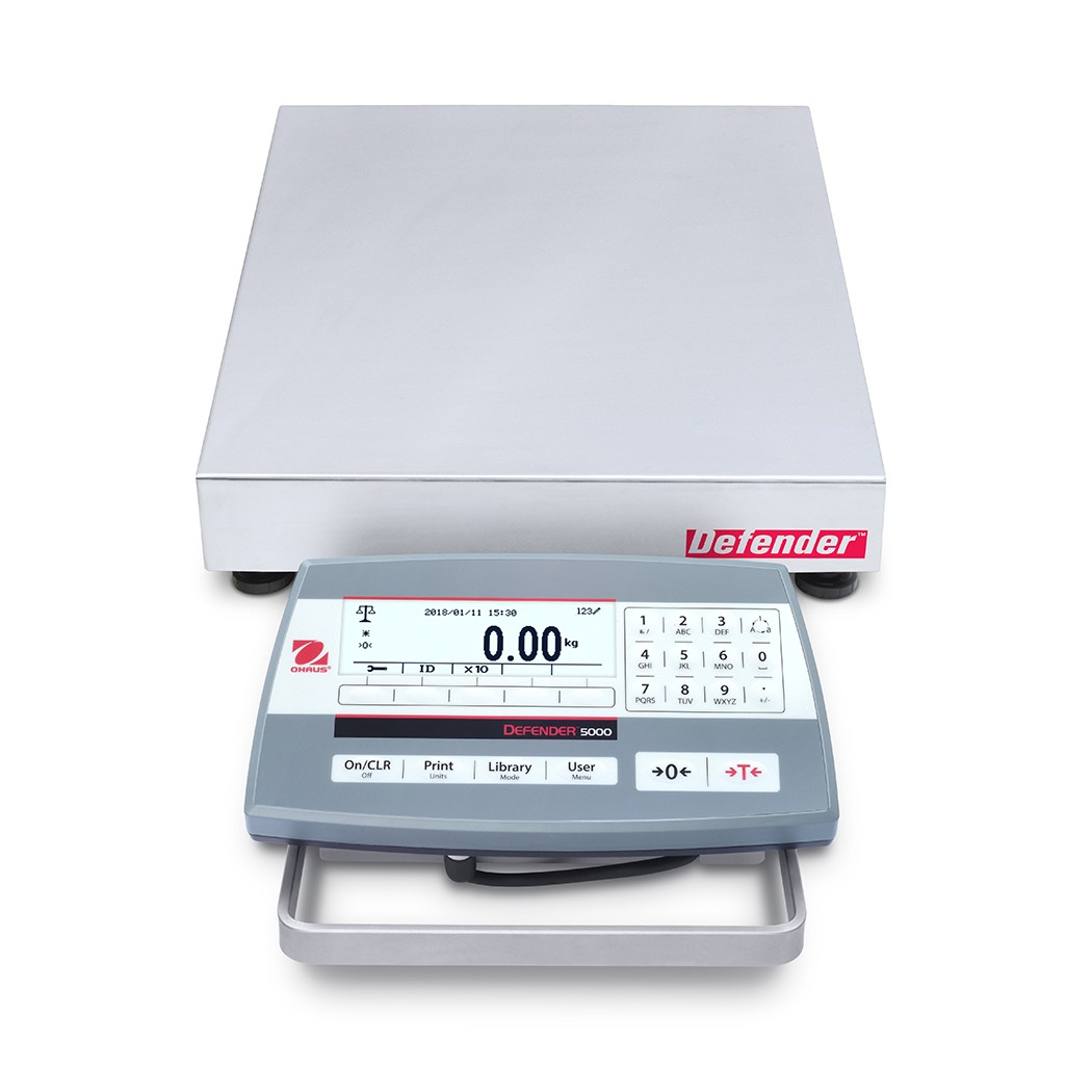 OHAUS Defender 5000 D52P6RQDR5 bench scale
