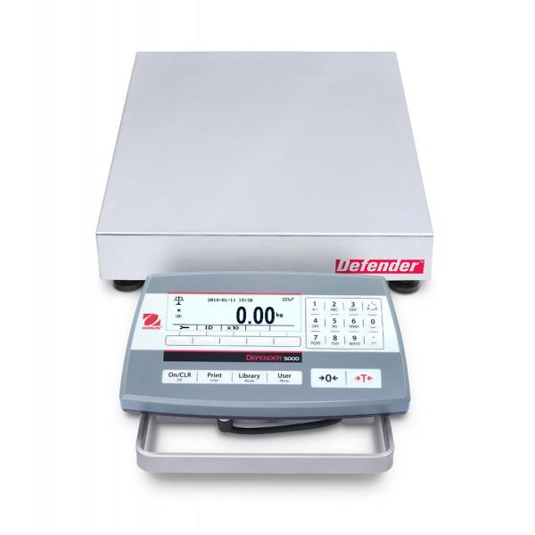OHAUS Defender 5000 D52P15RQDR5 - 6kg/15kg x 0.5g/1g bench scale