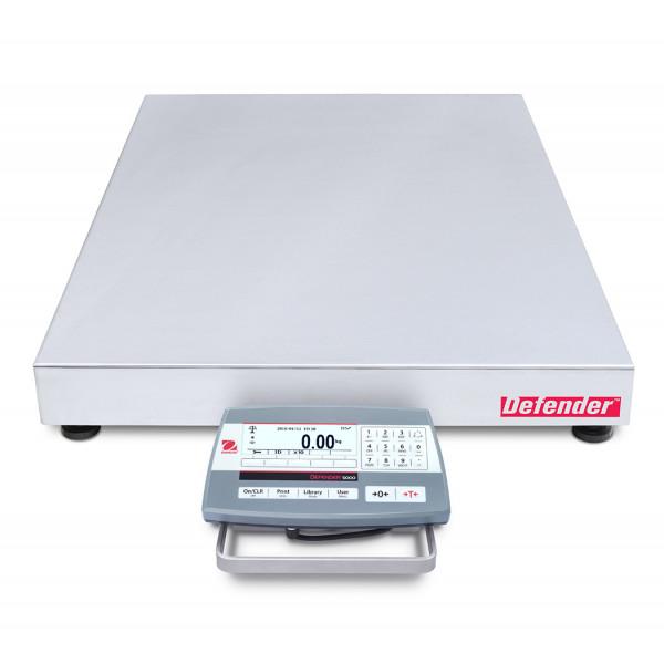OHAUS Defender 5000 D52P150RQDX5 - 60kg/150kg x 5g/10g bench scale