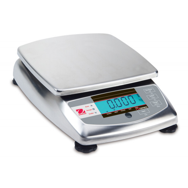 OHAUS FD15 - 15kg x 5g - Trade Approved portion scale