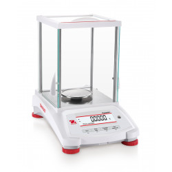 OHAUS Pioneer PX224/E - 220g x 0.1mg analytical balance, external calibration