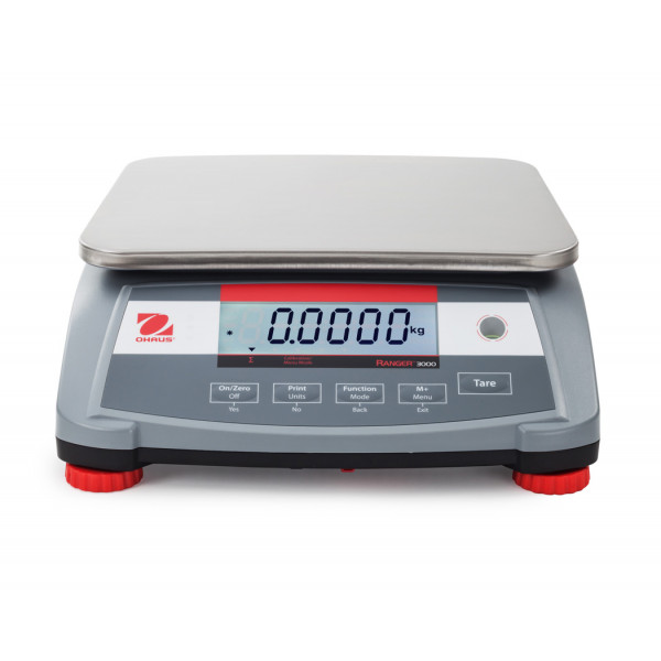 OHAUS Ranger 3000 R31P15 bench scale