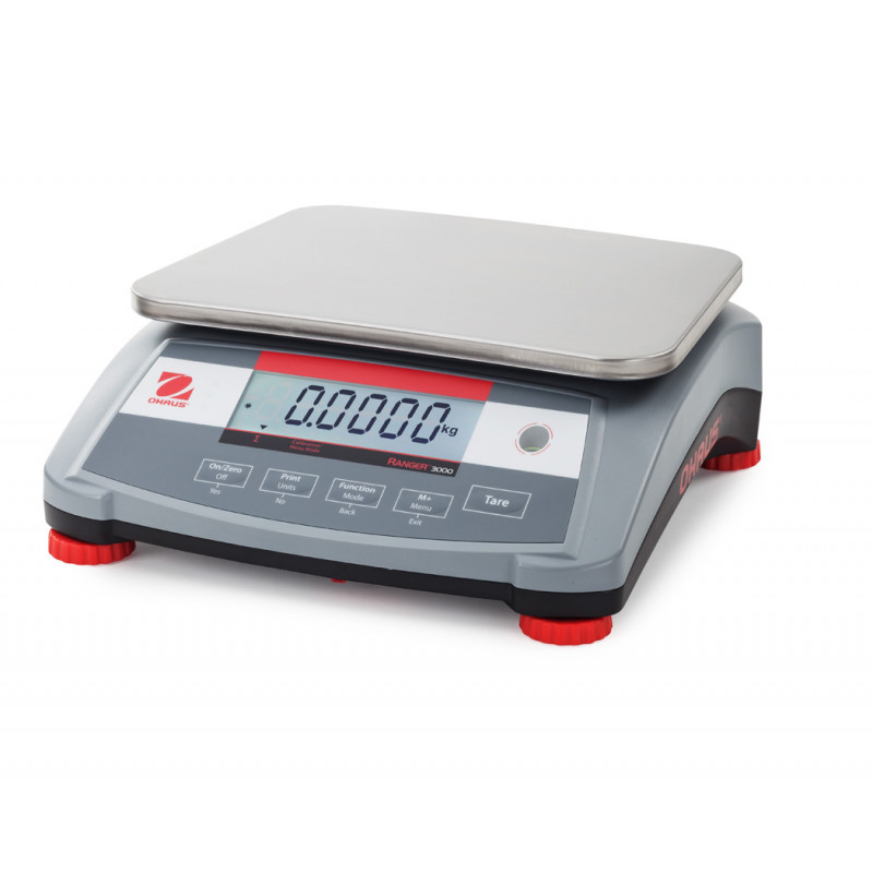 Ohaus Ranger 3000 R31p6 6kg X Bench Scale