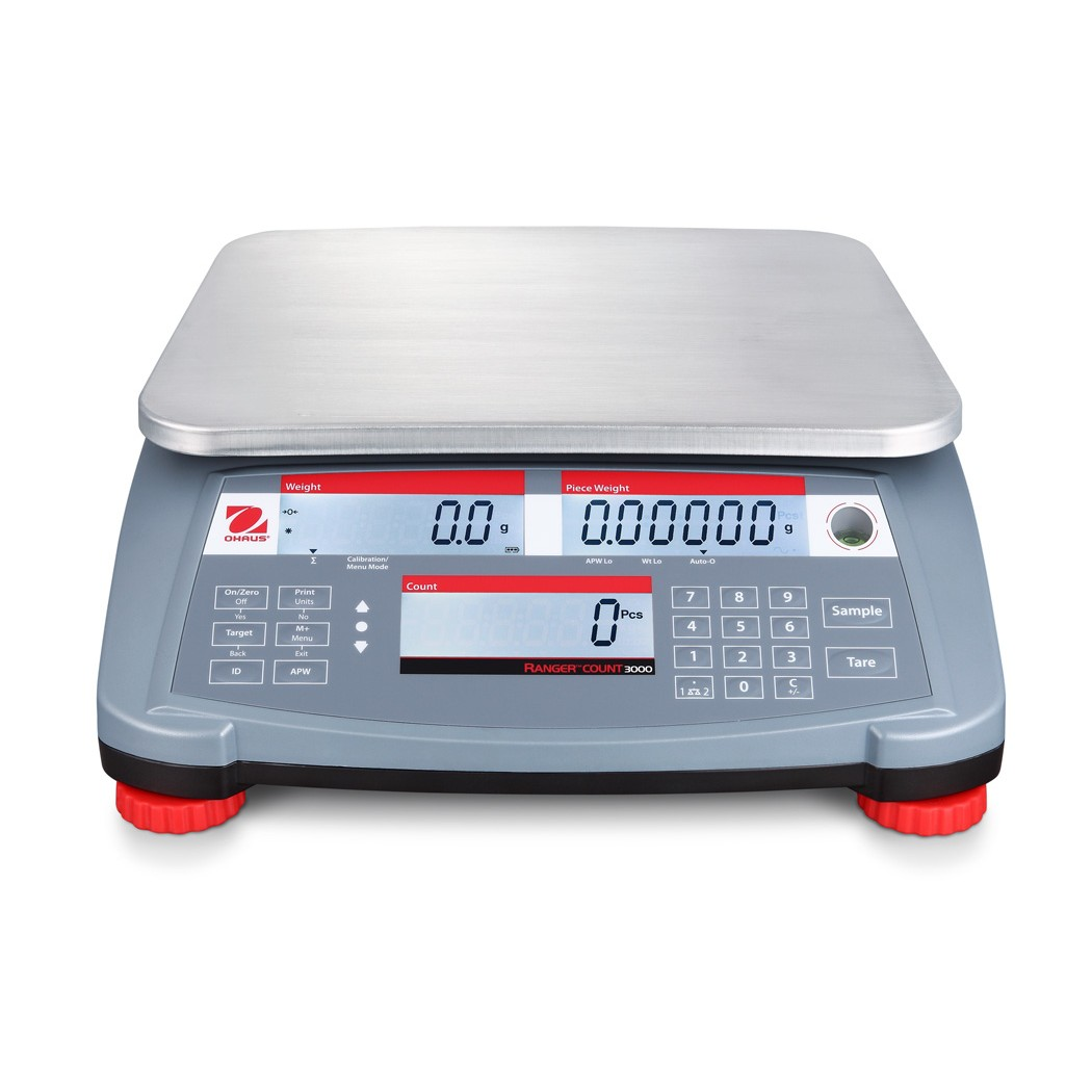 OHAUS Ranger Count 3000 RC31P1502 - 1.5kg x 0.05g counting scale