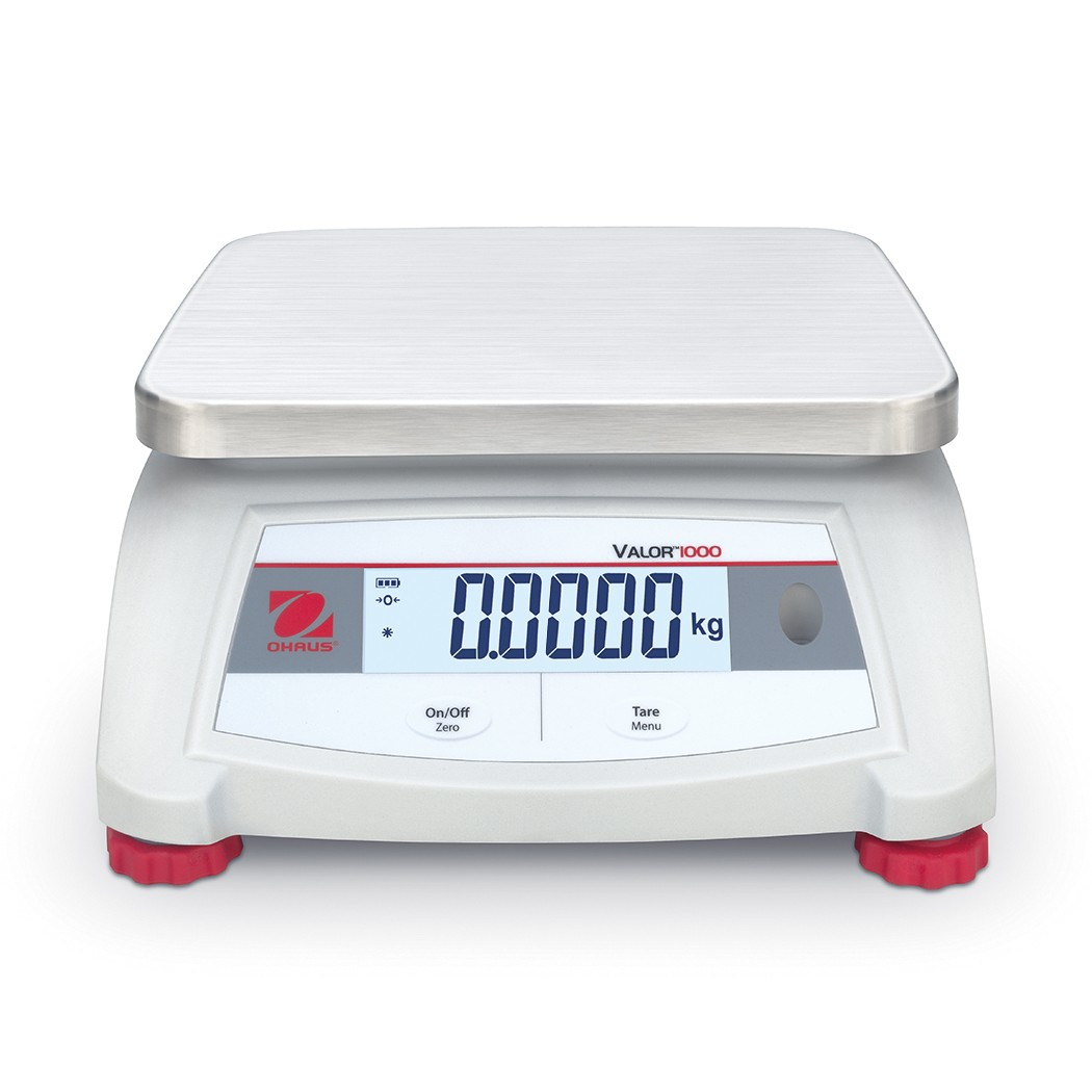 OHAUS Valor 1000 V12P3 - 3kg x 0.0005kg bench scale