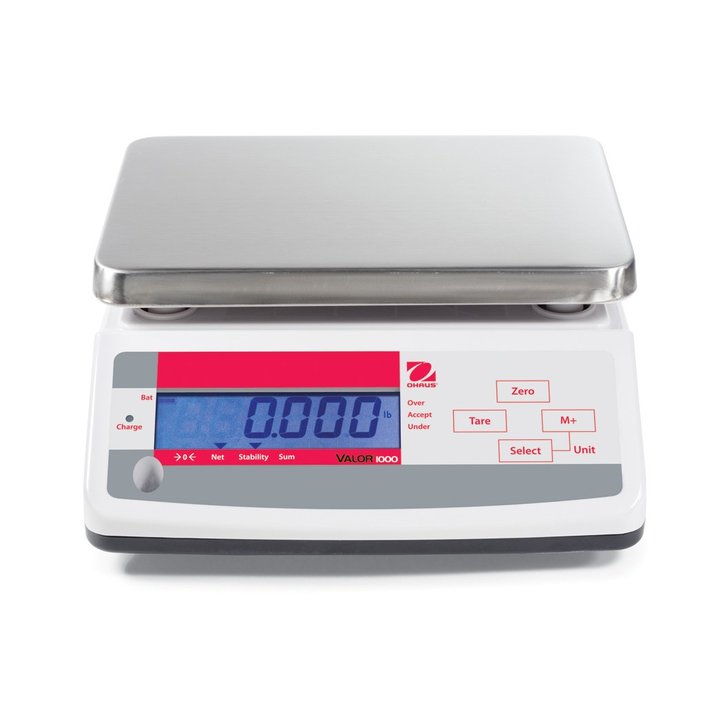 OHAUS Valor 1000 V11P15T bench scale