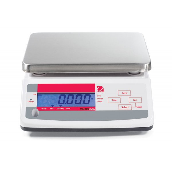 OHAUS Valor 1000 V11P6T bench scale
