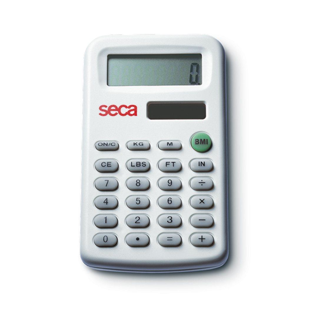 Seca 491 BMI Calculator - battery and solar powered
