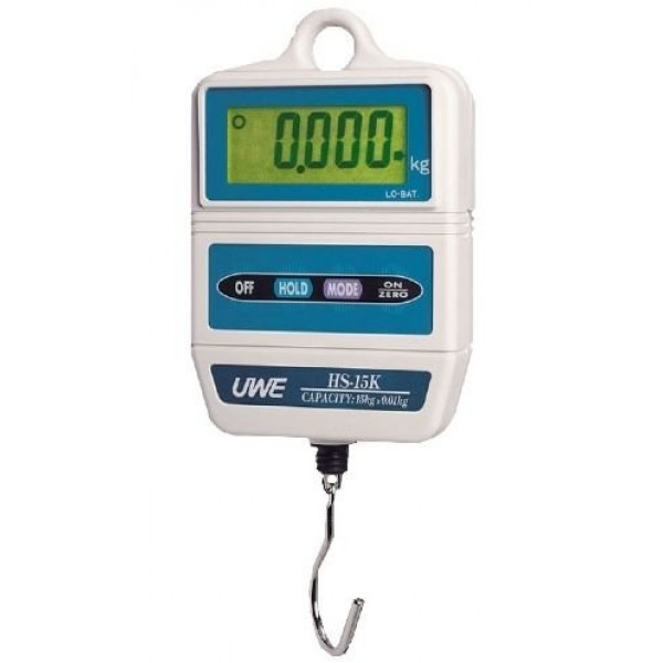 UWE HS-7500 - 7500g x 5g digital hanging scale