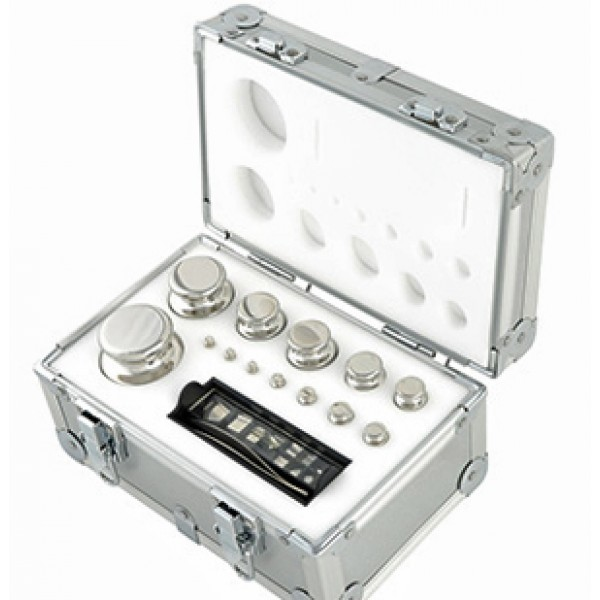 1mg to 1kg Calibration Weight Set - Class F1