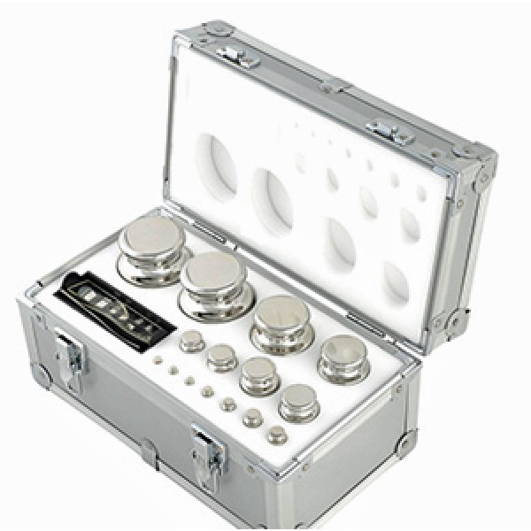 1mg to 2 x 2kg Calibration Weight Set - Class F1