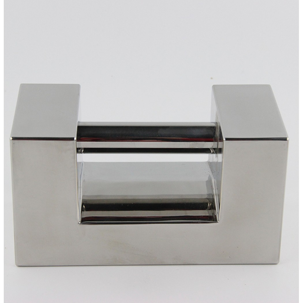 10kg rectangular calibration weight - Class F1 stainless steel