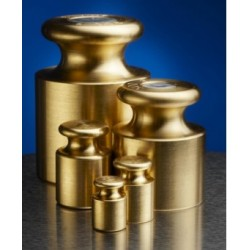 Brass Calibration Weights - NMI Inspector's Class 2